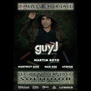 Hartmut Kiss live @ Timeless Experience, Solidoor Dresden (27.10.12) REWORKED