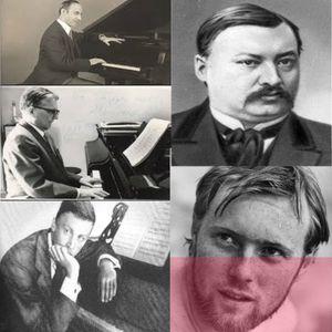 SOUNDTRACKS #14 (26 Aug 2012) Three of Glazunov's pupils + Krzysztof Komeda