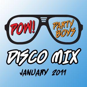 POW! Party Boys Disco Mix January 2011