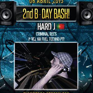 Hard J- Promo Set - FUEL TECHNO Pt 2nd B-Day Bash @STRESSLESS.06.04.2013