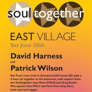 David Harness Live @ Taboo - Soultogether East Village Exclusive