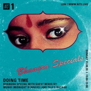 DOING TIME - Bhangra Special w/ Munir &  Fuji's Bazaar  - 23rd August 2020