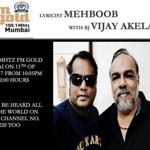 RJ Vijay Akela - 11th August 2017 - Friday