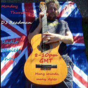Dj Readman Monday evening Radio Variety Show