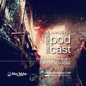 Rullo Sciandra (Huum Records) @ Amixtli Podcast x MuyMalosRadio