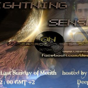 Deep Cult - Lightning Sense 005 [29 May 2011] on Usessions (Greece)