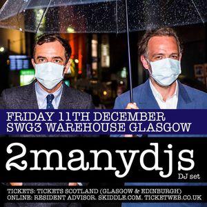 "JON MANCINI - ""LIVE"" at 2manydjs - SWG3, Glasgow"