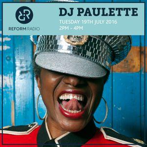 DJ Paulette 19th July 2016