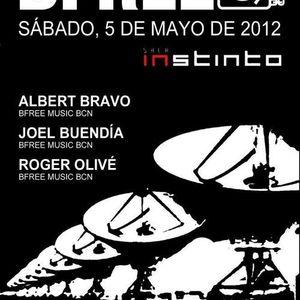 Bfree - Joel Buendía @ Sala Instinto Part 1    5/5/2012