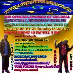 DJ JIGGYSTARBOYI LIVE ON WWW.DESTENIMEDIA.COM FRIDAY 12 TILL 3