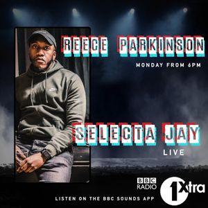 Selecta Jay on BBC Radio 1xtra 2021 - Reece Parkinson Drive Time
