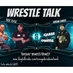 Wrestle Talk with Joe and Rick feat. Chase Owens