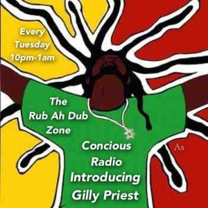GILLY PRIEST FIRST MIXCLOUD ON CONCIOUS RADIO 21.01.2014