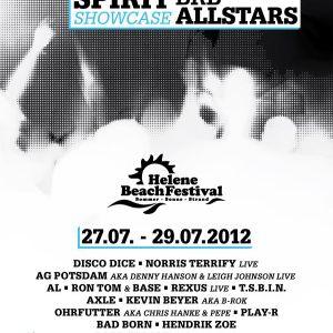 Bad Born @ Helene Beach Festival 27.07.2012 -Summer Spirit Showcase powered by BRB Allstars