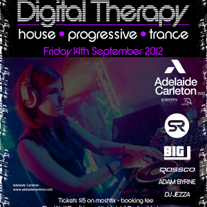 Exclusive Mix for 'Digital Therapy' 14th September @ Home Nightclub, Sydney Australia