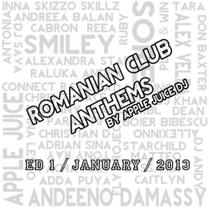 Apple Juice - Romanian Club Anthems (1st Edition January 2013)