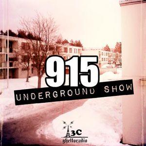 915 Underground Show 12.2.2015