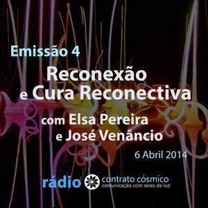 Emissão 4 - Reconexão e Cura Reconectiva // Rádio Contrato Cósmico