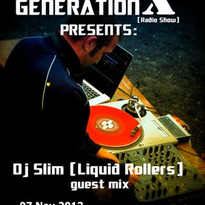 Generation X [RadioShow] pres. DJ SLIM (Liquid Rollers) on the Guest Mix @NU-RAVE.COM - 07Nov2013