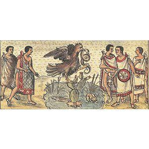 Somos Nuestra Memoria: Los mitos de fundación de Tenochtitlan
