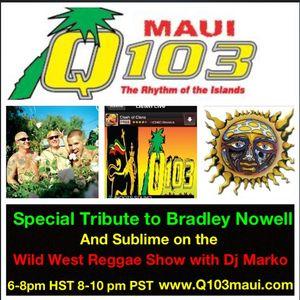 Wild West Reggae Show with Dj Marko on Q103 FM Maui (Vol. 42 Hr 2)