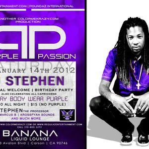 PURPLE PASSION Promo1 - SAT JAN 14th @ Banana Liquid Lounge (LA)