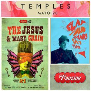 Sensor 110: Temples, Fanzine Live con The Jesus And Mary Chain, Art VS Science