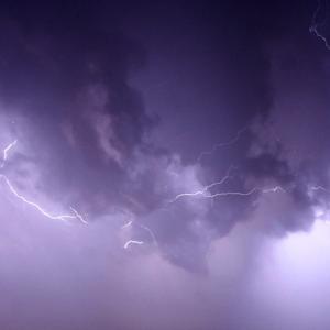 Una noche de Techno bajo la lluvia..!!!