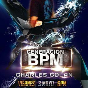DJ Golan @ Generacion BPM (Radio VOX FM 102.9) 03-05-2013