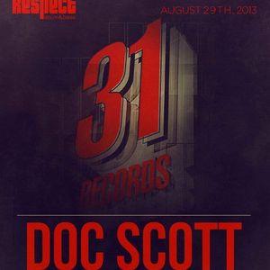 Doc Scott (31 Records, Metalheadz, Good Looking Rec.) @ Respect DnB Radio - Los Angeles (28.08.2013)
