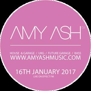 Amy Ash live on EffectFM 160117 // Classic Garage / 2Step