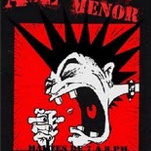 Amenaza menor entrevista a las Black Violettes el día 15 06 2011 en Radio Faro 90.1 fm!!