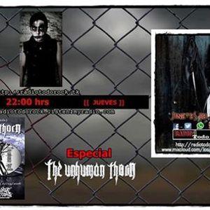 Programa Jinetes del Rock 28 4 2016 Especial The Unhuman Thorn