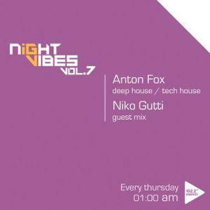 Dj Niko Gutti  - NIGHT VIBES Guest Mix Vol.7 Hour2