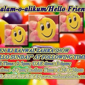 """""""Hello Sunday"""" Show With Rj Kanwal (Part a-July2012)"""