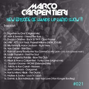 MARCO CARPENTIERI - HANDS UP Radio Show 021