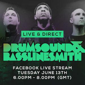 Drumsound & Bassline Smith - Live & Direct #42 [13-06-17]
