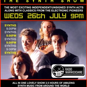 RW097 THE JOHNNY NORMAL SYNTH RADIO SHOW - 26TH JULY 2017
