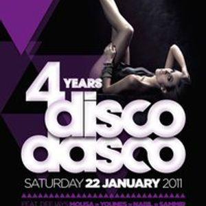 4 YEARS DISCO DASCO Mix (Jan 2011)