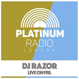 DJ Razor / 14th March 2016 @ 4pm - Recorded Live on PRLlive.com