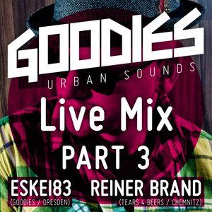 DJ Eskei83 & Reiner Brand - Goodies Live Mix Part 3