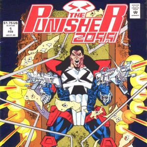 37 - Punisher 2099 #1 - The First Appearance of Jake Gallows