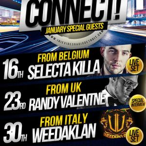 CONNECT! RADIO SHOW EPISODE # 105_16_01_2014_DJ SELECTA KILLA_Live set_____WWW.BALOOBASOUND.COM