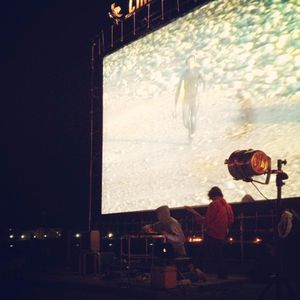 Hiratsukanian3 the white van Live at Zushi beach Film Fes 2013