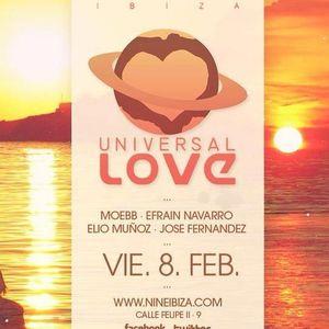 Elio Muñoz from Universal Love @ Nine 9 (IBIZA)