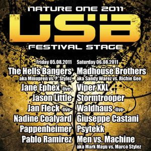 Stefan Senk - Live @ Nature One 2011 USB Stage 2011-08-06