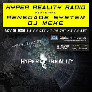 DJ Meke - Hyper Reality Radio 023 Guest Mix [19.11.2015]