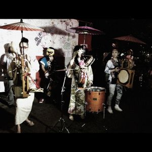 Bon-Dance in Suginami, Tokyo on August 18th, 2012.