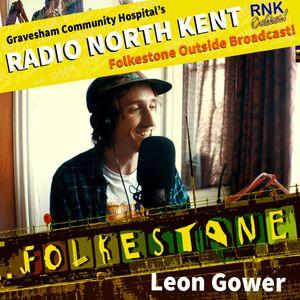 Radio North Kent OB from Folkestone with Leon