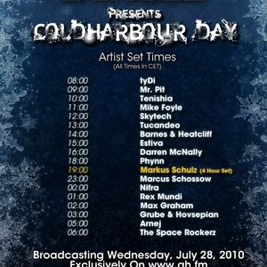 Coldharbour Day 2010 Hour 2 on Afterhours.fm - July 2010
